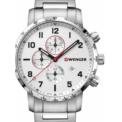 Wenger 01.1543.110 Attitude Chonograph 44mm 10ATM