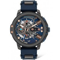 Police PEWJQ2003040 Hamnoy Dual Time 48mm 5ATM